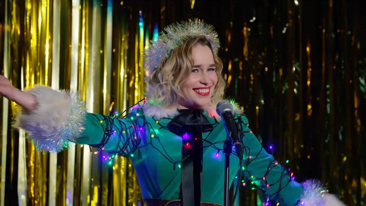 Emilia Clarke speelt cynische elf in trailer van Last Christmas