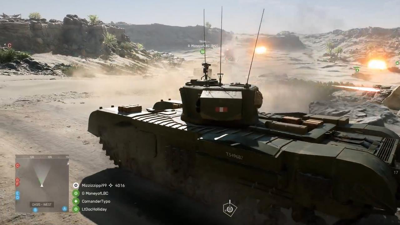 Trailer toont alle multiplayerlevels van Battlefield V