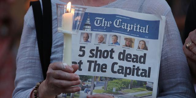 Levenslang voor bloedbad bij Amerikaanse krant Capital Gazette