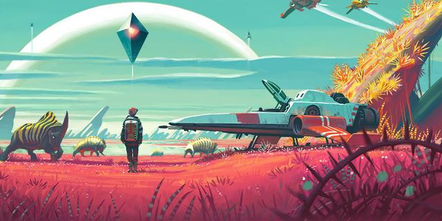 Ruimtegame No Man's Sky tot augustus uitgesteld