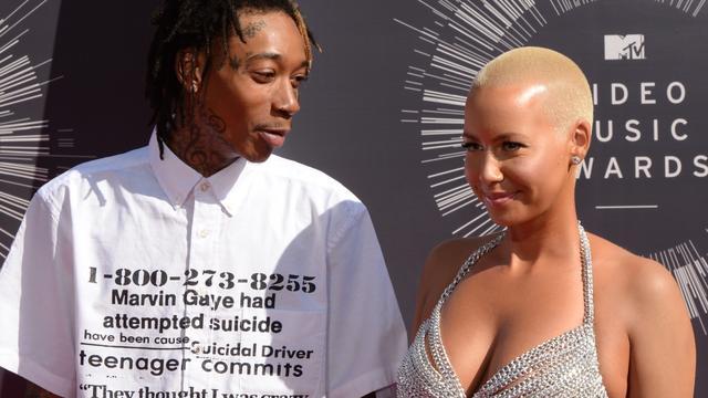 'Wiz Khalifa en Amber Rose akkoord over alimentatie'