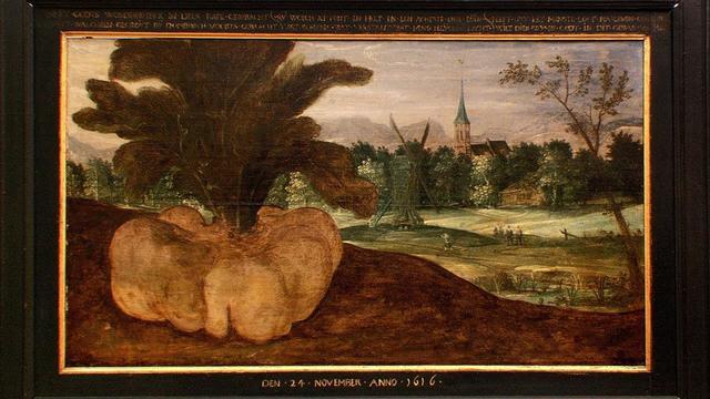 Wonderlijk Veers schilderij precies vierhonderd jaar oud