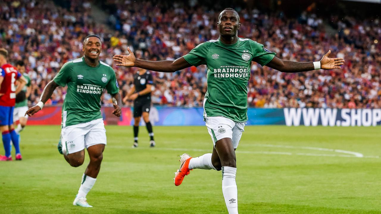 Bruma kopt PSV prachtig wijze op 1-1 tegen FC Basel