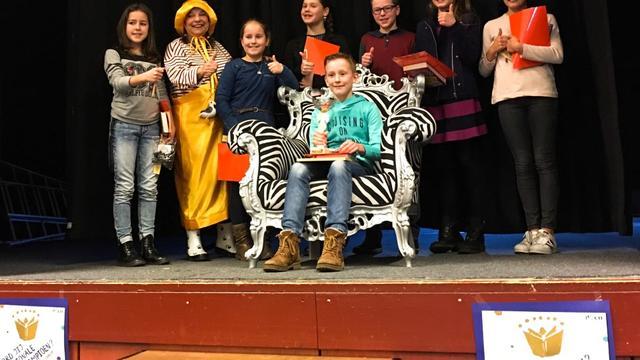Mees Blom voorleeskampioen van gemeente Rucphen