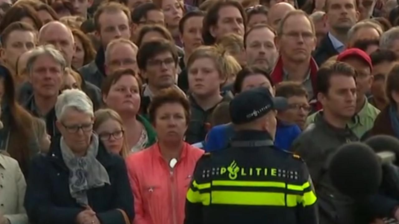 Nationale Herdenking op de Dam in Amsterdam