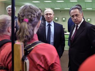 President benadrukt dat er geen door staat gestuurd dopingsysteem was
