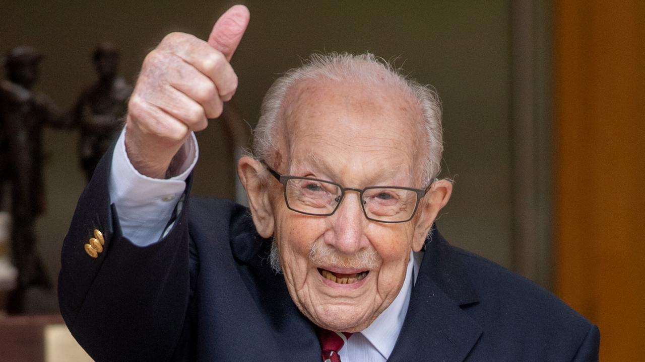 Britse nationale held overleden: dit was 'Captain Tom'