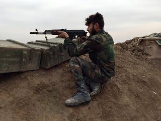 Troepen Assad breken door linies IS