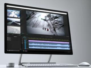 Surface Studio heeft dun, zeer kantelbaar scherm