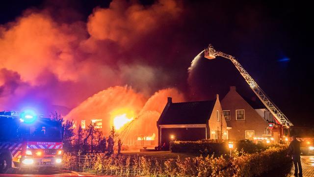 Boer in Werkhoven vrijgelaten na aanhouding voor brandstichting