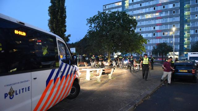 Bijna alle verdachten van rellen in Kanaleneiland opgepakt