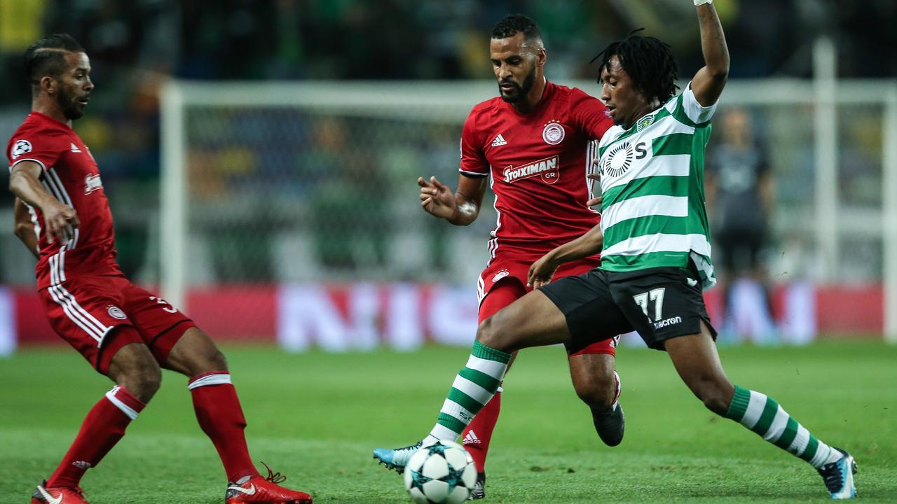 Samenvatting Sporting-Olympiakos (3-1) met twee goals Dost