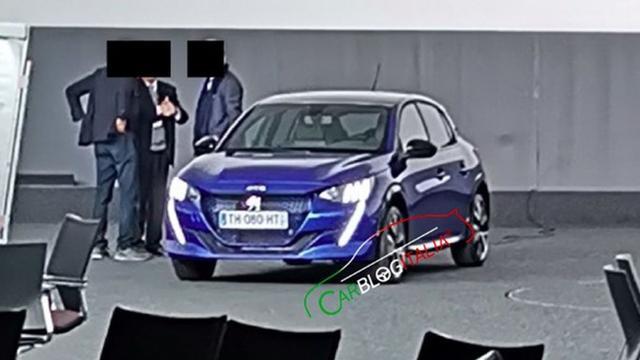 Foto nieuwe Peugeot 208 voortijdig uitgelekt