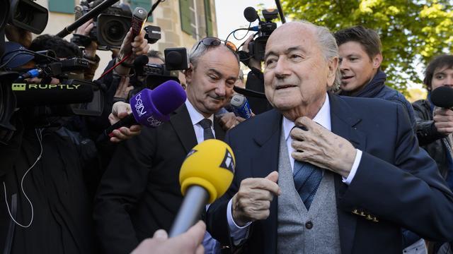 UEFA fraudeerde volgens Blatter bij loting