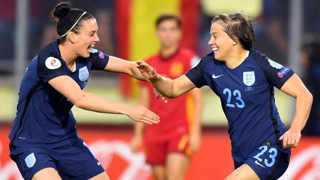 Engelse voetbalsters dicht bij kwartfinales EK, winst Portugal
