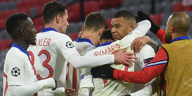 Mbappé leidt PSG in spektakelstuk langs Bayern in kwartfinales CL