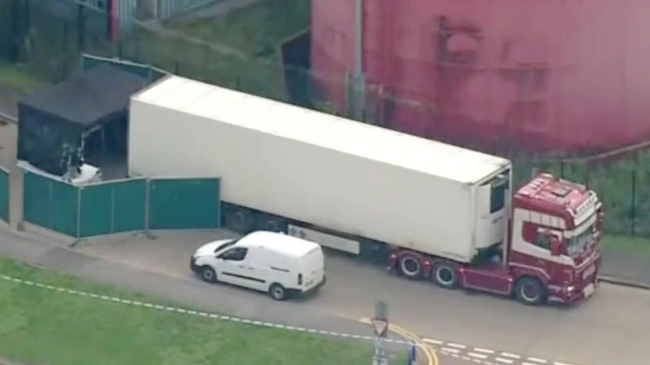 Britse politie onderzoekt voertuig waar 39 lichamen in liggen