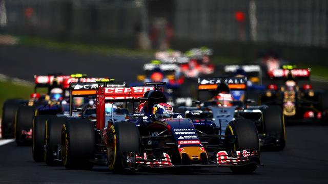 Verstappen negende bij Grand Prix Mexico, Rosberg wint
