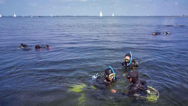 Duikwrak Le Serpent in Grevelingenmeer aangepast, duikverbod is opgeheven