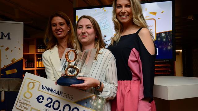 Samantha Stroombergen wint Gouden Strop voor beste thriller