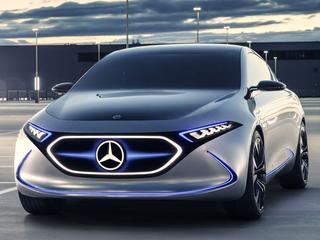 Elektrische modellen van Mercedes-Benz verschijnen als 'EQ'. Deze EQA Concept blikt vooruit op één van die modellen