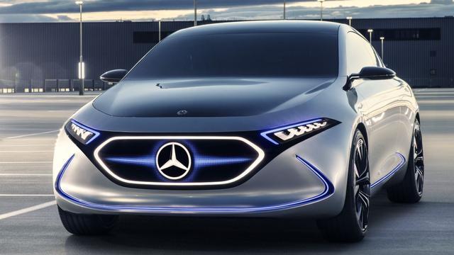 Mercedes-Benz toont futuristische EQA Concept