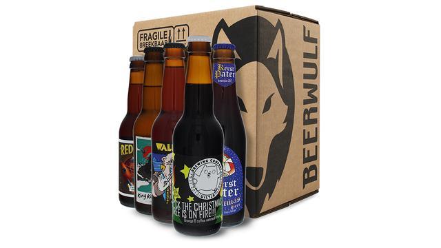 Beerwulf box van 38,95 euro voor 24,99 euro