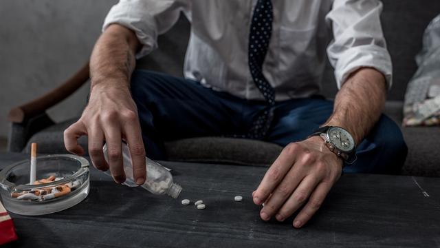 12 procent van gebruikers neemt drugs om goed te functioneren
