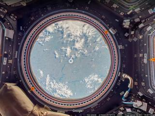 Astronauten maakten foto's voor Google Maps