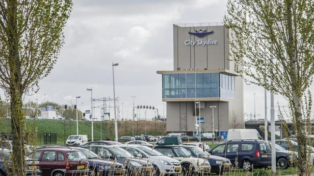 Nieuwe City Skydivecentrum langs de A2 geopend