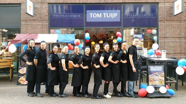 Visspecialist Tom Tuijp verkoopt beste haring van Utrecht