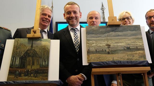 Gestolen werk Van Gogh was in bezit van Italiaanse maffia