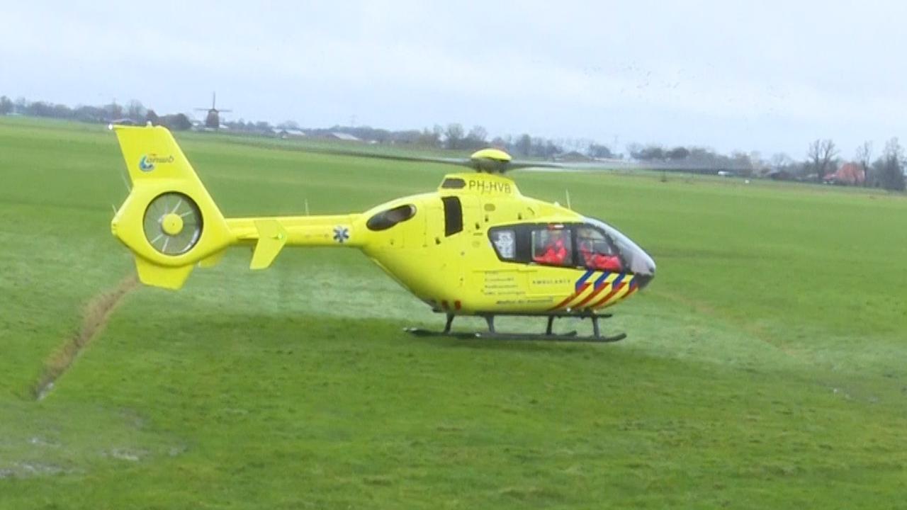 Traumahelikopter landt nabij plek dodelijk incident Obdam