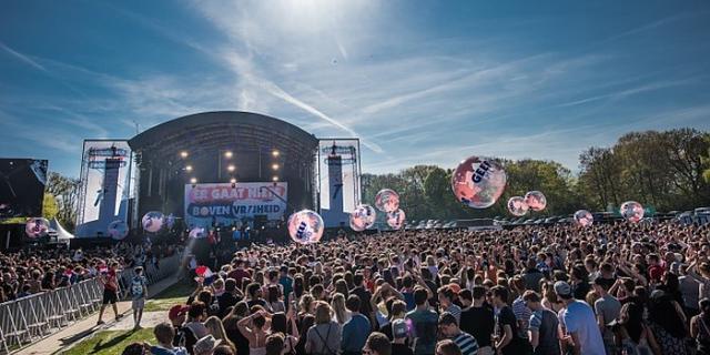 Bevrijdingsfestival Groningen krijgt extra podium vanwege drukte