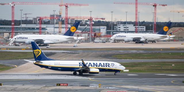 Ryanair hield in 2020 minder dan een kwart van normaal aantal passagiers over