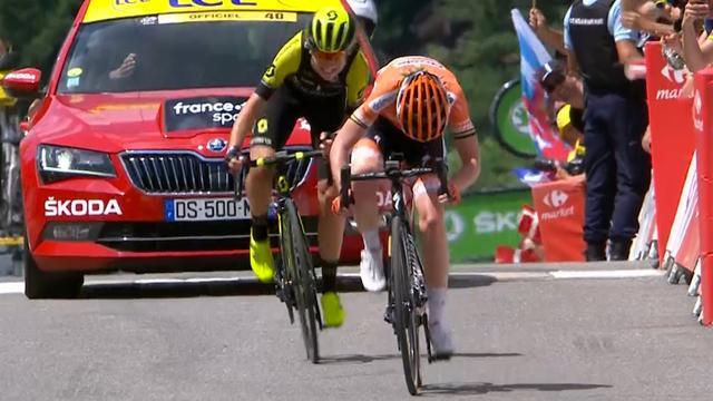 Van Vleuten wint La Course na spectaculaire inhaalactie