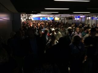 Alle passagiers opnieuw gecontroleerd voor vertrek