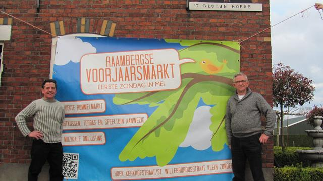 Jubilerende Raambergse voorjaarsmarkt terug op oude stek