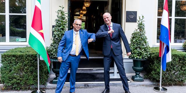 Nederland en Suriname kijken vooruit, uitlevering Bouterse niet aan de orde