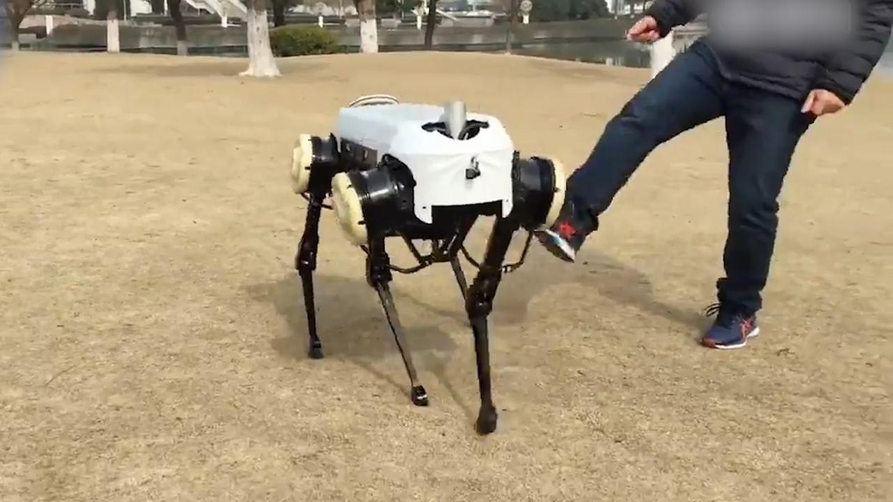 Chinese universiteit ontwikkelt robot voor in rampgebieden