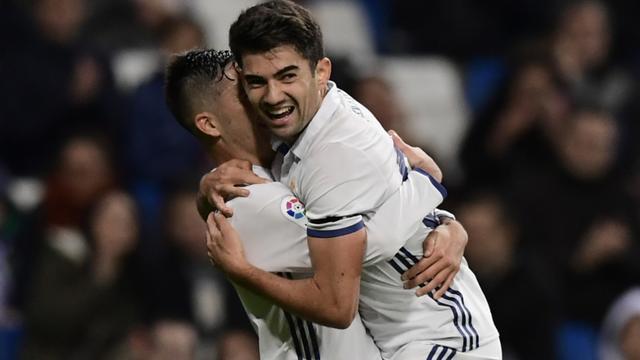 Scorende zoon Zidane helpt Real verder in beker, Barcelona gelijk