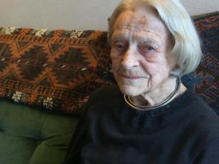 Gerda Link overleefde bombardement Dresden