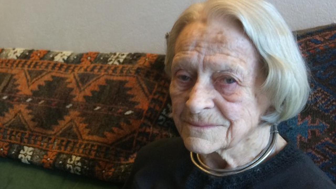 90-jarige kunstenares Gerda Link blikt terug