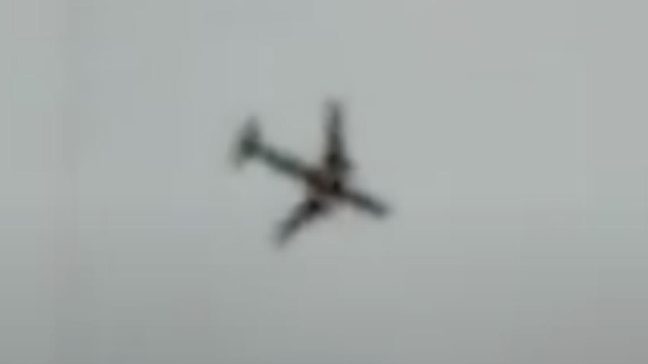 Chinees militair vliegtuig stort neer bij trainingsvlucht