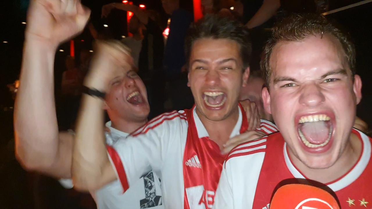 Ajax-fans in extase: 'Thuis gaan we de 'Spurs' overrompelen'