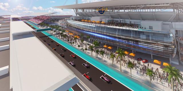Grand Prix van Miami vanaf volgend seizoen voor tien jaar op F1-kalender
