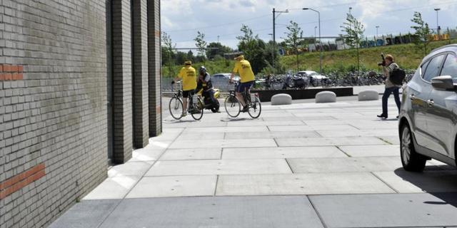 Honderden extra fietsenstallingen plaatsen tijdens thuiswedstrijd NAC