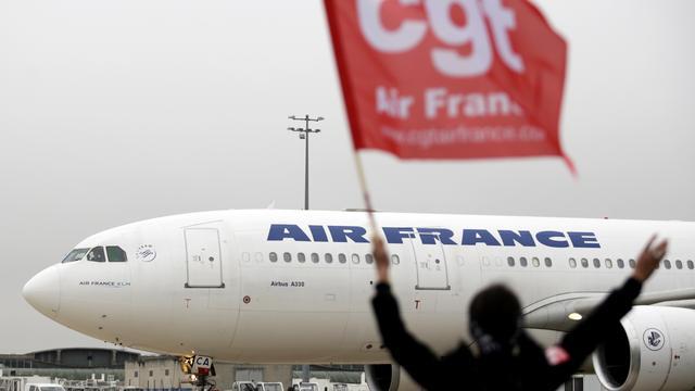 Vakbond roept op tot nieuwe staking bij Air France