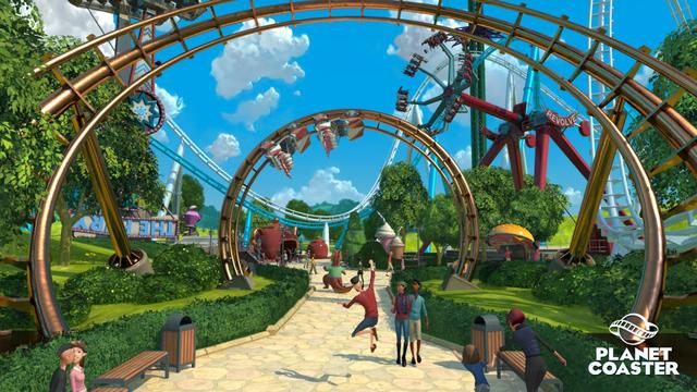 Rollercoaster-maker toont trailer van achtbaangame Planet Coaster