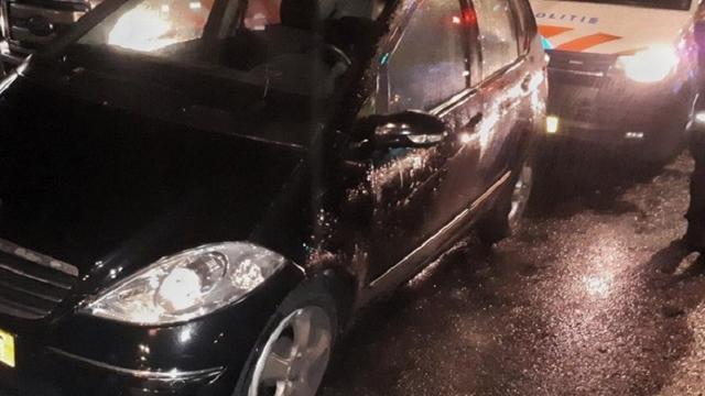 Tiener (15) ramt politieauto op de Groene Kruisweg